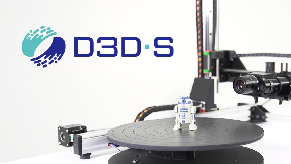 D3D-s: High-quality desktop 3D scanner. project video thumbnail