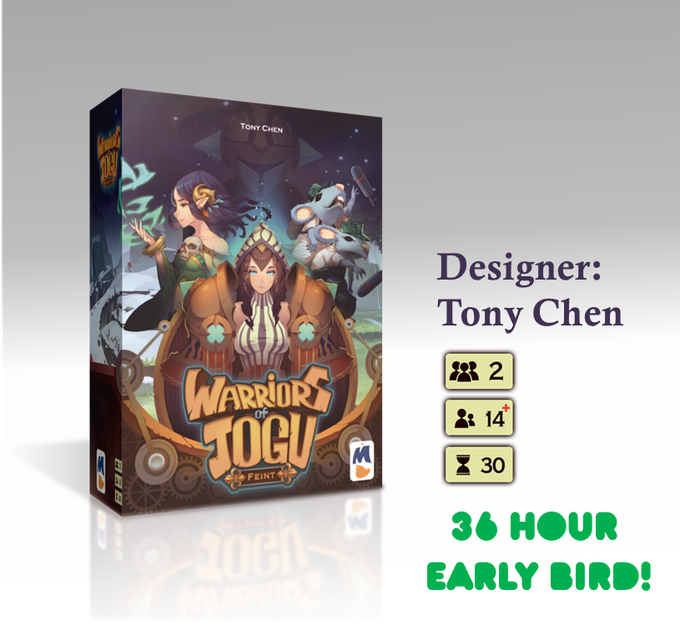 Warriors Of Jogu: Feint By Monsoon Publishing —Kickstarter