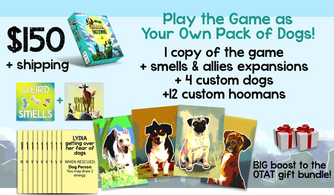 Good Dog, Bad Zombie: A Cooperative Board Game by Make Big