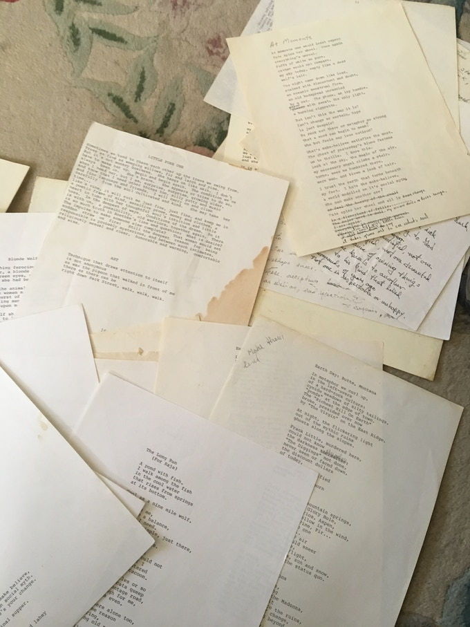 Moving On: The Unpublished Poems of Ed Lahey by Drumlummon