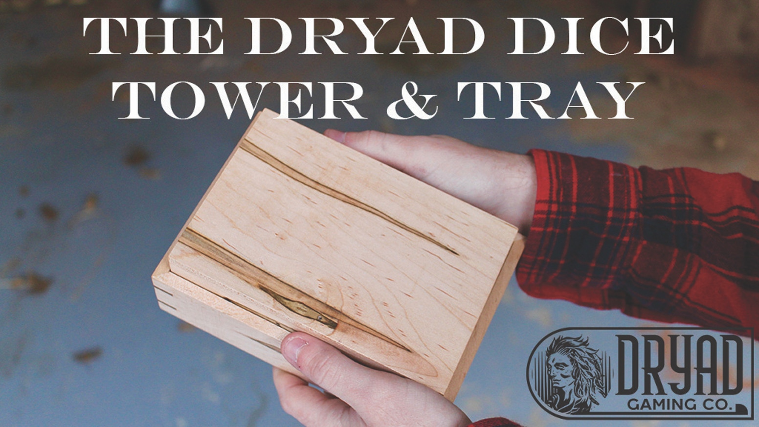 Extremely durable, handmade dice towers & trays out of fourteen different domestic and exotic hardwoods.