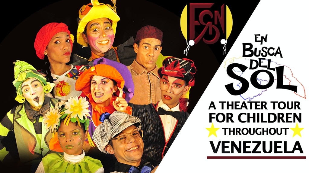 A theatre tour for children throughout Venezuela