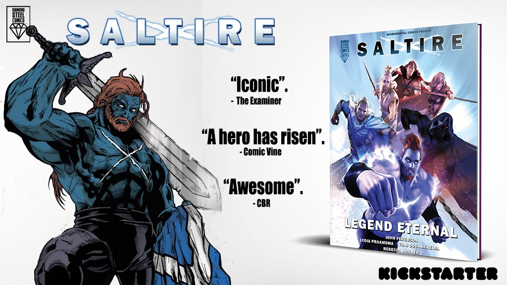 Saltire Legend Eternal Graphic Novel Epic Scottish Mythology project video thumbnail