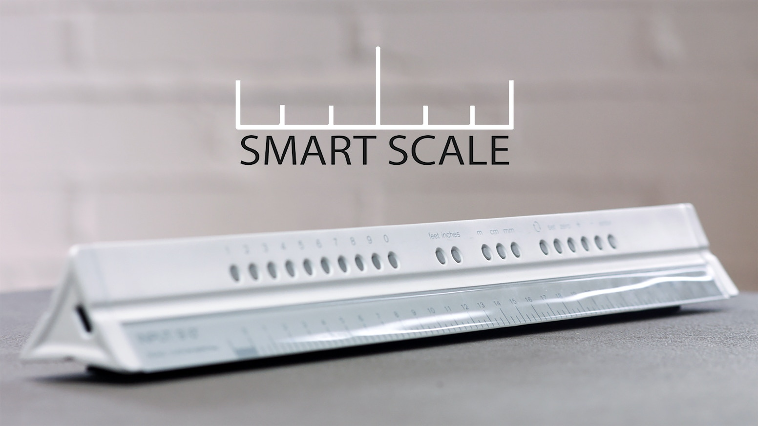 A digital ruler that can be customized for Architects, Designers and Builders. Never have difficulty with scales or units again! Now that the Kickstarter is over pre order through Indiegogo in the link below.