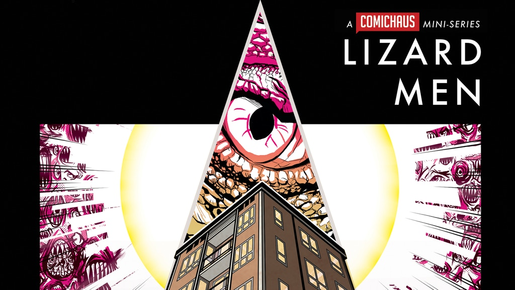 Lizard Men Issue 2 project video thumbnail