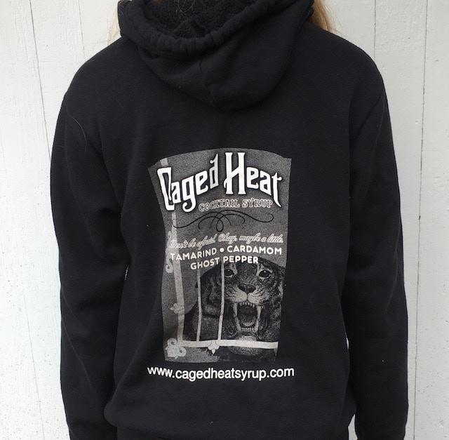 Caged Heat hoodies!!!