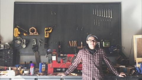 Me in my garage shop