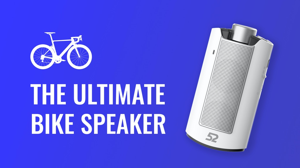 52 SPEAKER - The Ultimate Mountable Speaker for Bike Riders