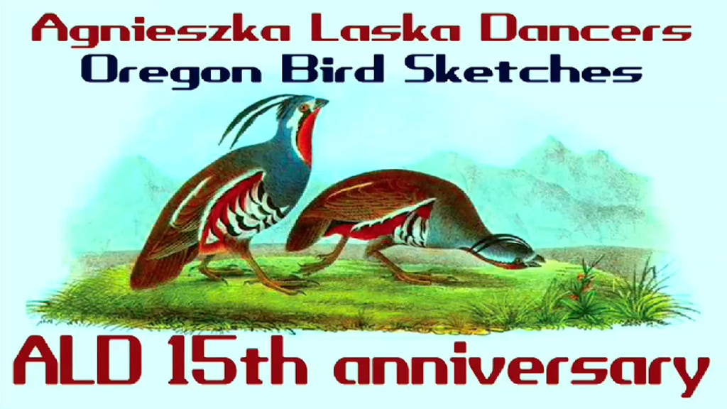 OREGON BIRD SKETCHES - ALDancers 15th anniversary project video thumbnail