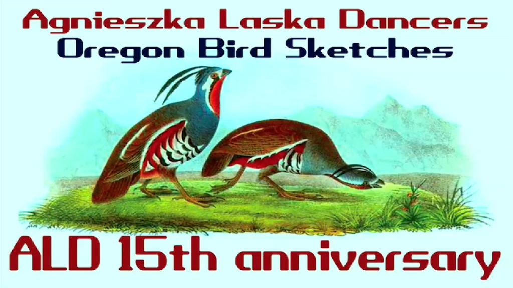 OREGON BIRD SKETCHES - ALDancers 15th anniversary project video thumbnail