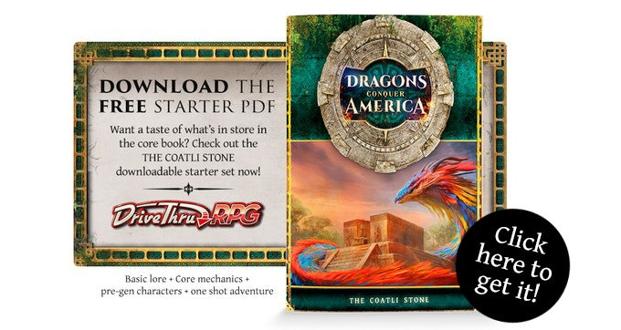Dragons Conquer America - RPG Core Book by Burning Games — Kickstarter