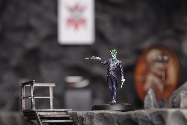 Sculpted by Arnaud Boudoiron and painted by Martin Grandbarbe, 3D terrain by Rémi Bostal
