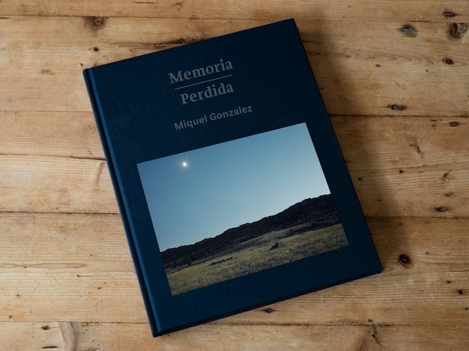 Dummy of the Memoria Perdida book (not the final design)