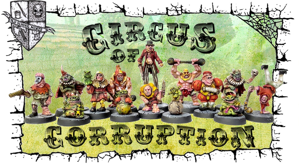 The Circus of Corruption - 28mm Metal Miniatures by OSM project video thumbnail