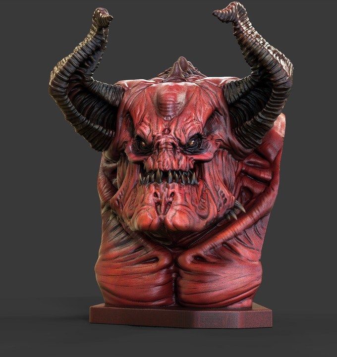 Render of what Demonoid could look like with some paint