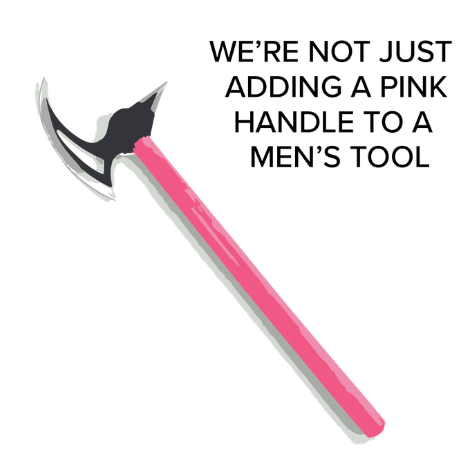 Pink Handle Must be for Women