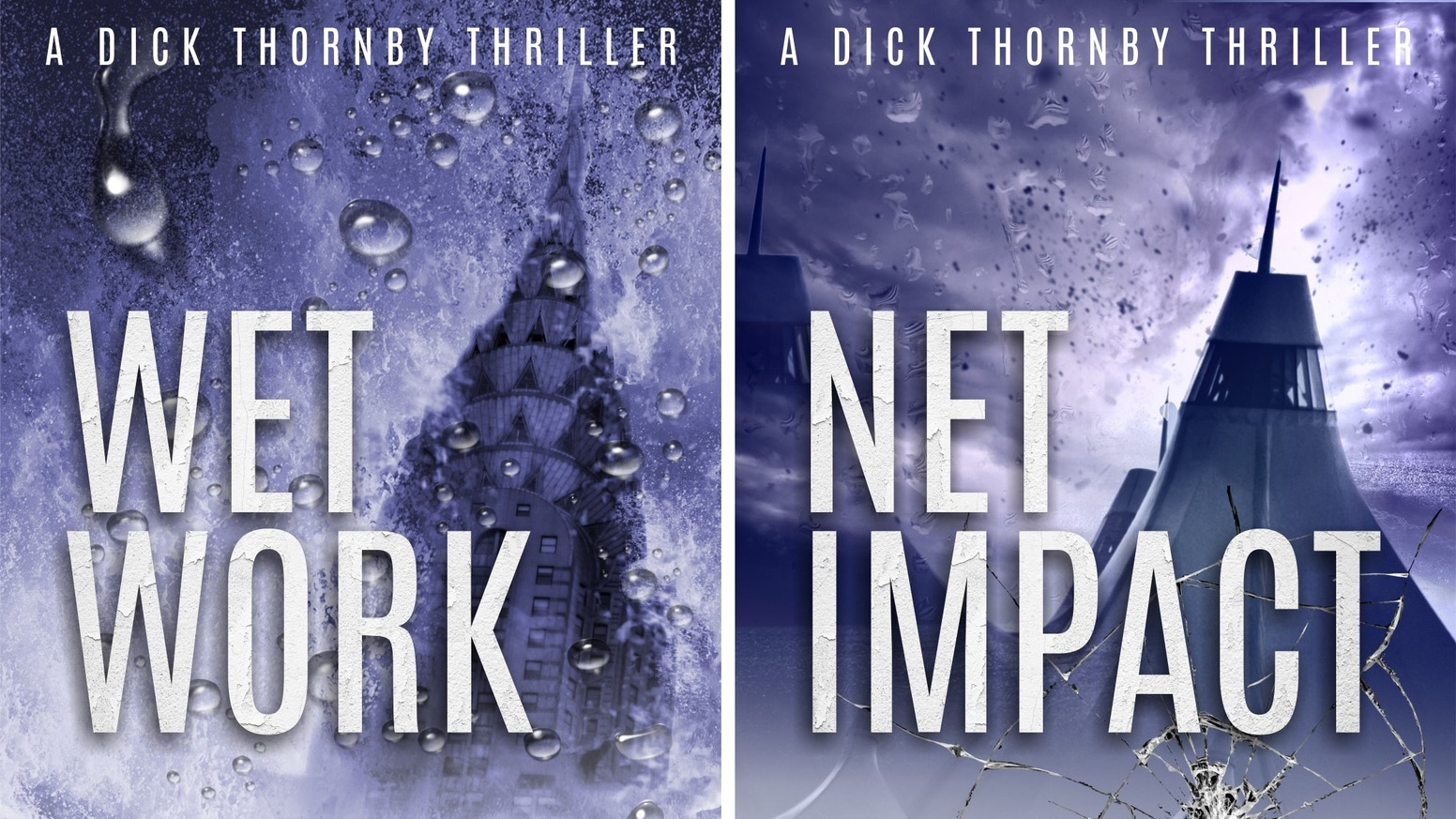 Dick Thornby is a new kind of spy for a new kind of world. Two novels; two conspiracies based on real world events. Lots of action.