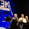 Bill Corbett, Michael J. Nelson, and Kevin Murphy (a.k.a. RiffTrax) at a live 'Mystery Science Theater 3000' reunion show