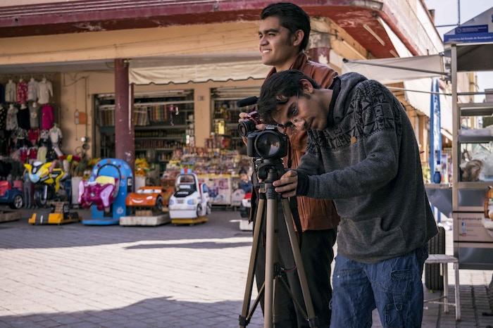 The team behind the documentary short, Anita