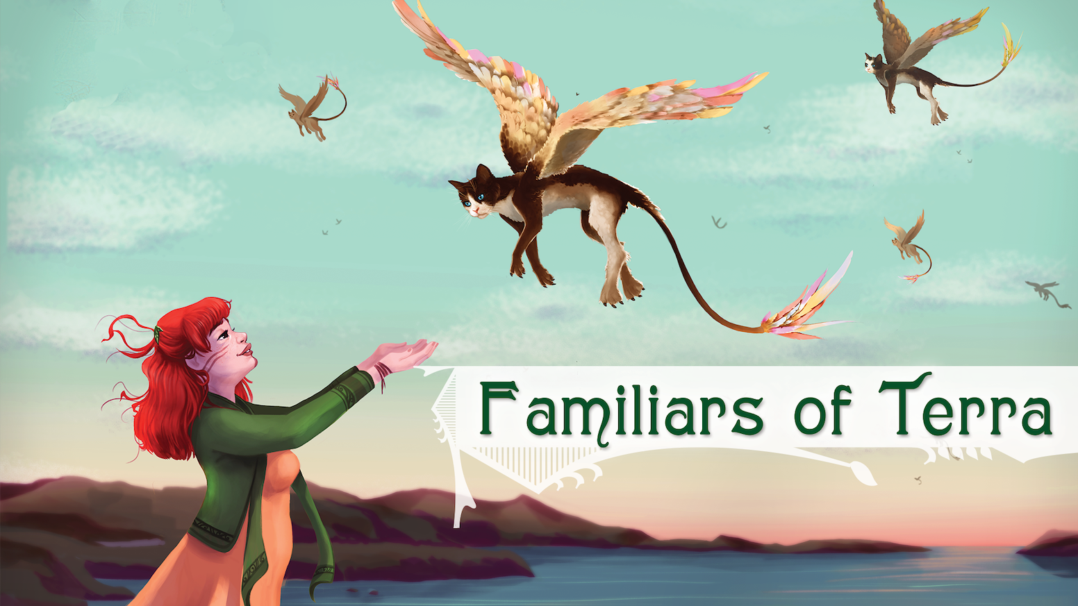 Discover Terra with your very own animal familiar in this tabletop RPG about exploration, adventure, and amazing animals.
