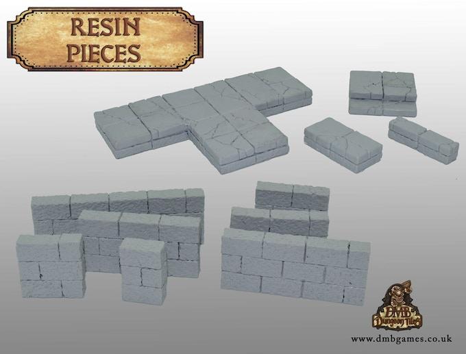 Bare Resin Tiles