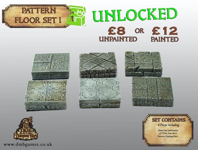 Stretch Goal 10: £6,000 – Patter Floor Set I – UNLOCKED!