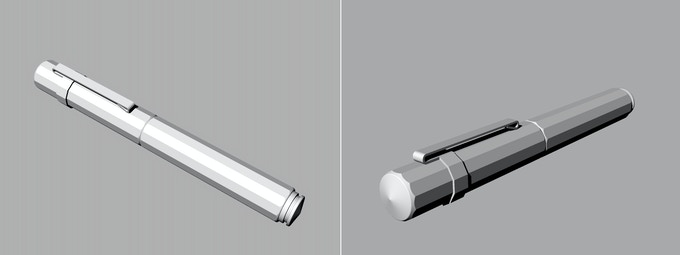 optional clip - 3D sketch