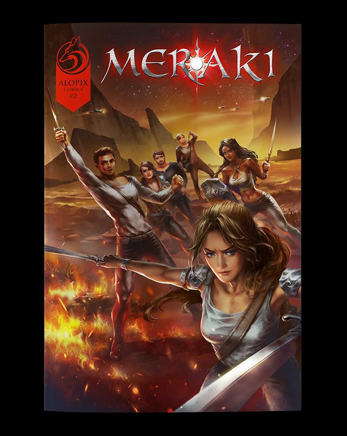 MERAKI #2 Standard Cover