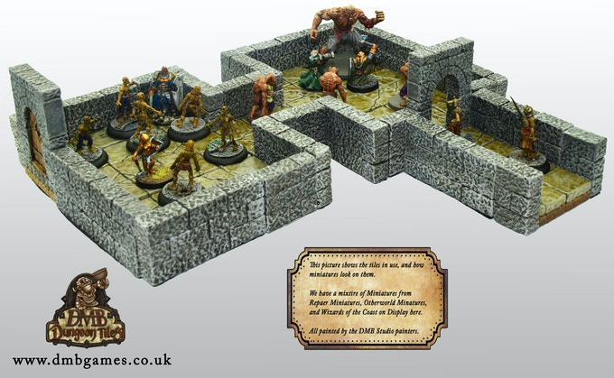 A Picture of our tiles as they might be used in a game.