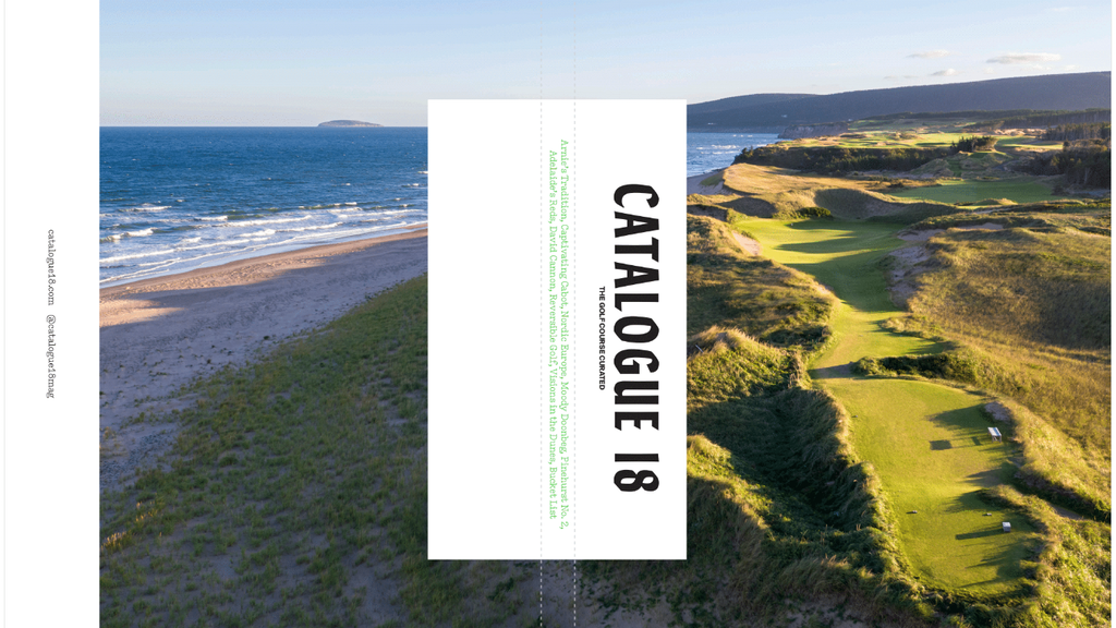 Catalogue 18: The world's most beautiful golf magazine project video thumbnail