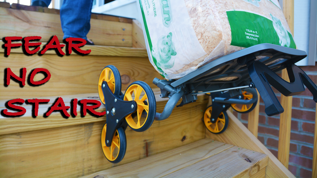 UpCart® City: The Most Compact Stair Climbing Cart! project video thumbnail