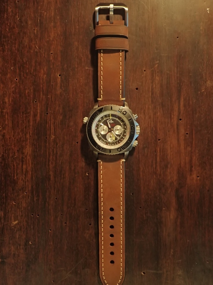SCTK with Italian Leather strap