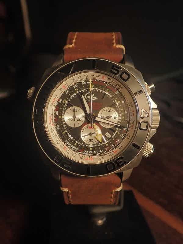 SCTK with Italian Leather strap (details)