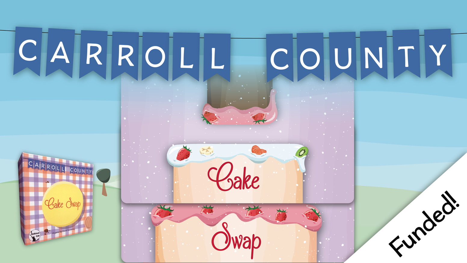 carroll county cake swap print and play by jealous cat games