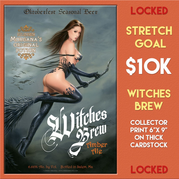First Stretch Goal Unlocks at $10,000