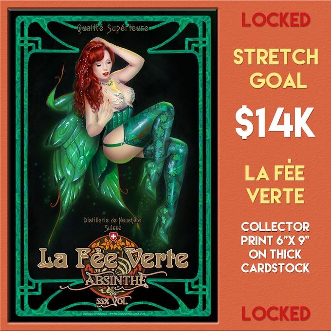 Third Stretch Goal Unlocks at $14,000