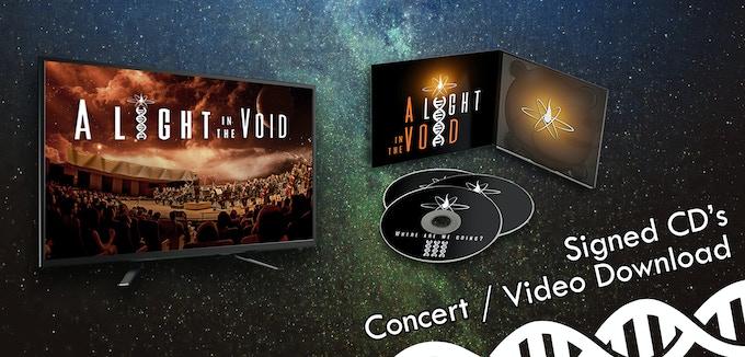 $40: Signed Kickstarter-exclusive CD