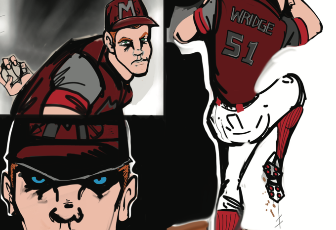 Nick Wridge: middle reliever, left-hander, awful dude