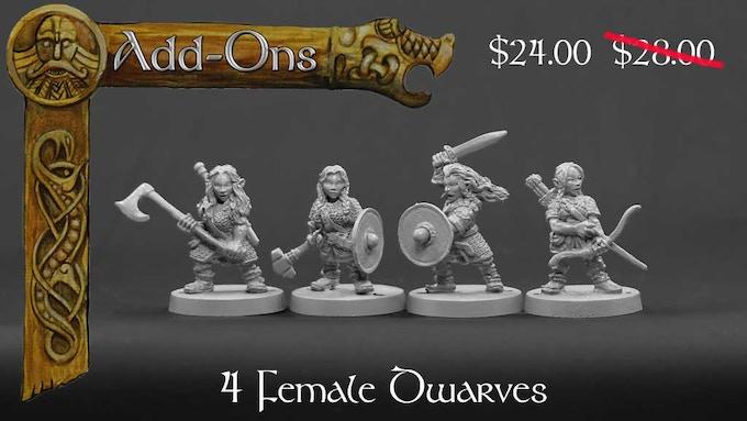 Female Dwarves set 2