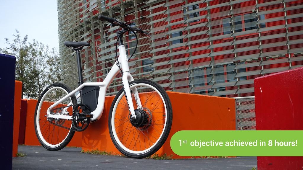 Oh!bike -The smartest & lightest urban ebike project video thumbnail