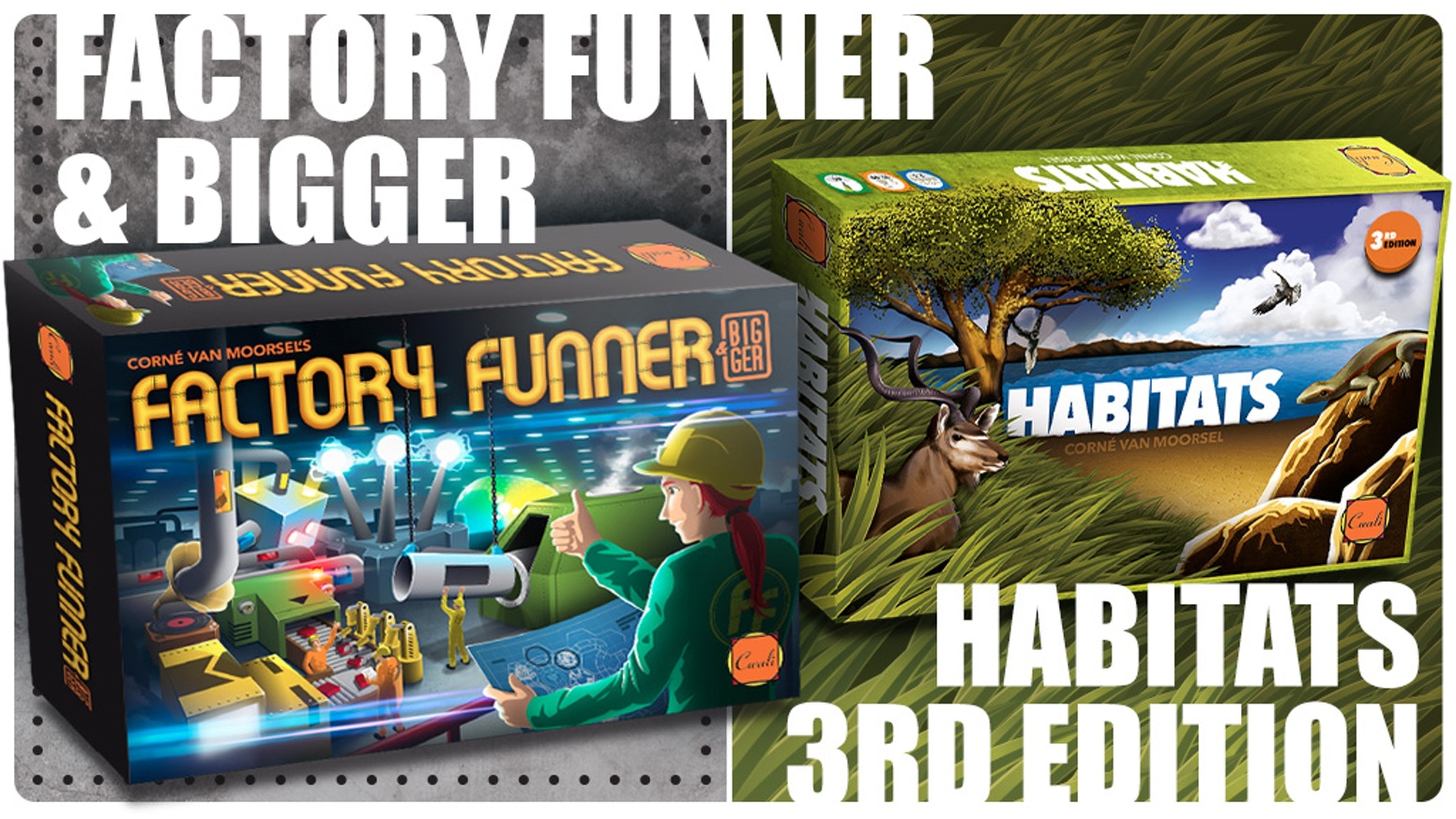 Factory Funnerbigger And Habitats 3rd Edition By Corn Van Moorsel Switch Runner 3 Launch Bonus English Us Games Build Your Own Or Wildlife Park Be Creative Efficient In Making