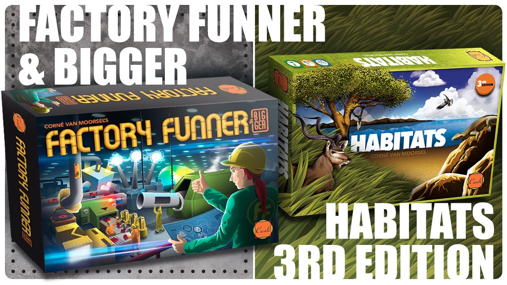 Factory Funner&Bigger and Habitats 3rd edition project video thumbnail