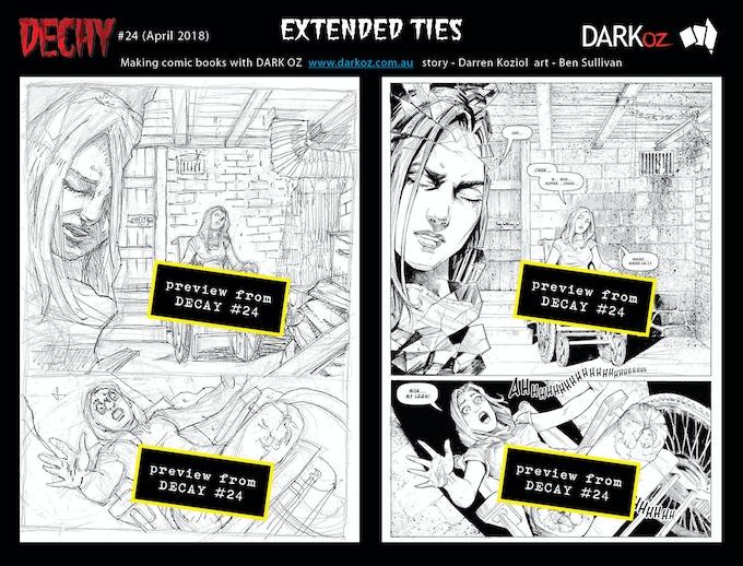 Extended Ties - art samples