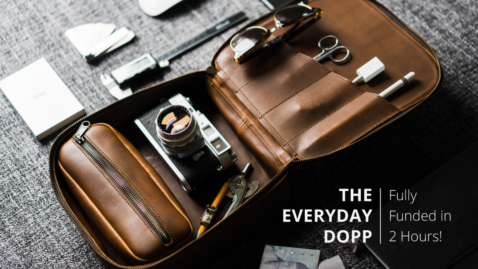We set out to design the world's best dopp kit - and ended up designing the world's best everyday carry case in the process.