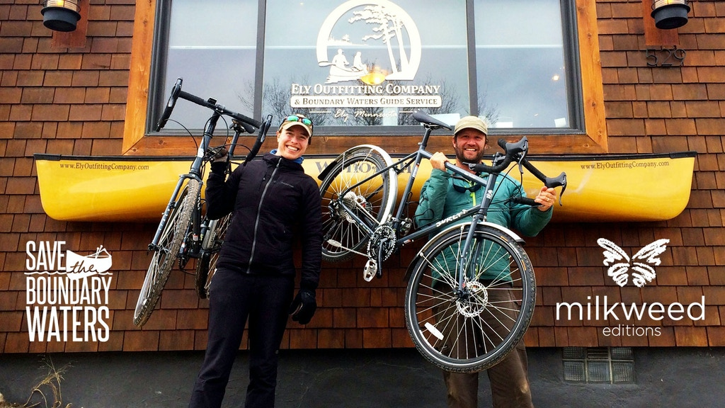 Pedal to DC: Book Tour to Save the Boundary Waters project video thumbnail