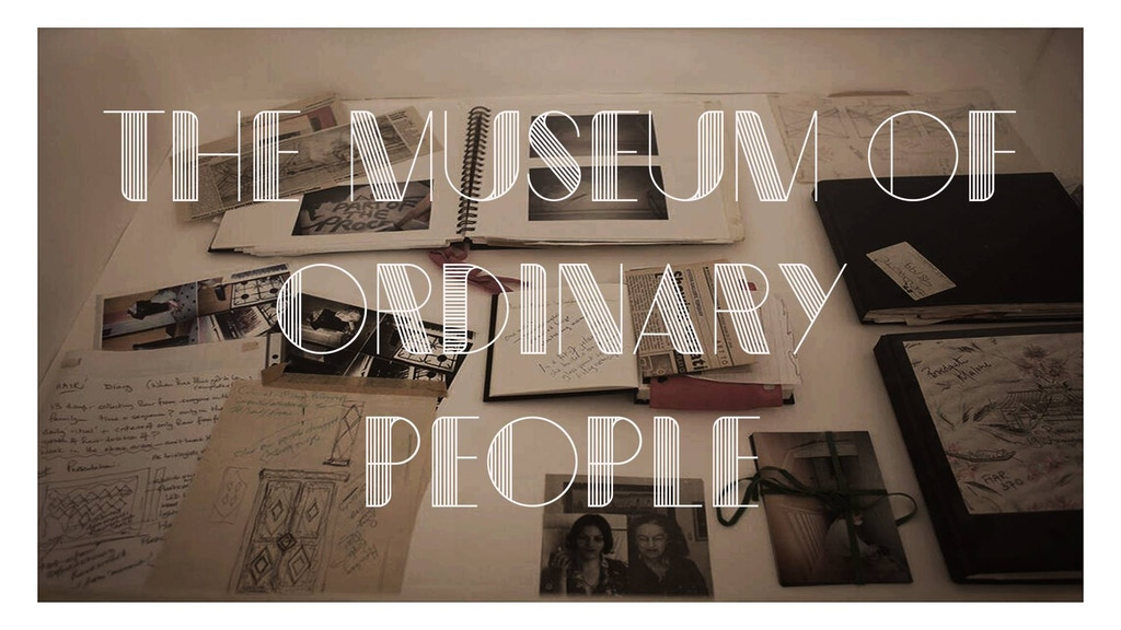 The Museum of Ordinary People (MOOP) project video thumbnail