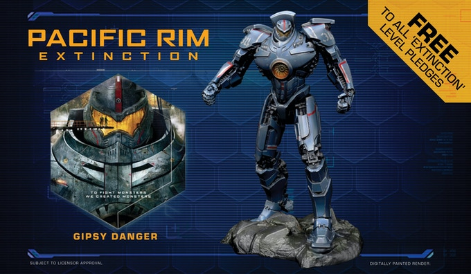 Pacific rim extinction by river horse kickstarter the miniatures of pacific rim extinction stand between 75 100mm tall and close attention has been paid to bring the truly larger than life appeal of these voltagebd Gallery