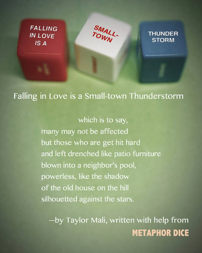 Poem from a List of Prompts: Poetry Lesson Plan by Taylor ...