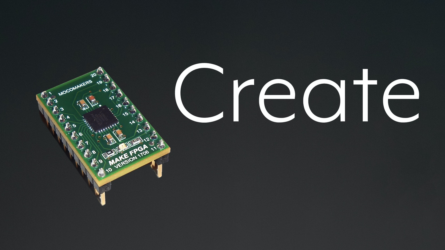 A breakout board for learning and applying FPGAs. A seriously powerful electronics tool for your projects.