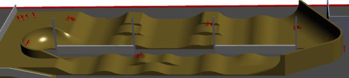 Draft Pump Track Design - Angle 1